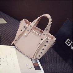 Find More Top-Handle Bags Information about 2016 Spring And Summer New Wild Rivet Package New Wild Rivet Package Portable Female Bag Shoulder Bag Women Messenger Bags,High Quality bags ect,China bag dance Suppliers, Cheap bag trunk from LikeGirl Store on Aliexpress.com