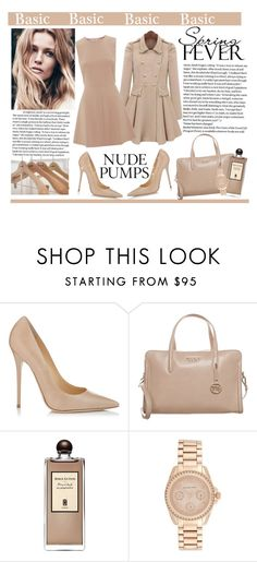 """contest"" by hajni0103 ❤ liked on Polyvore featuring Jimmy Choo, Tosca Blu, Serge Lutens, Michael Kors, Jil Sander and RED Valentino"