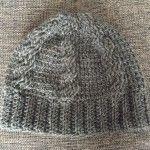【編み図】かぎ針で編むなわ編みニット帽