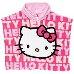 16bedbeb8f Hello Kitty Pink Toddler Hooded Poncho 21HK833 Sanrio
