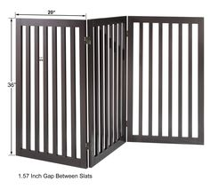 Total Win Freestanding Pet Gate for Dogs with 2PCS Support Feet ** Visit the image link more details.-It is an affiliate link to Amazon.