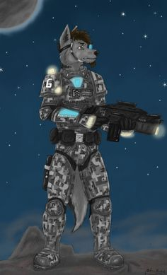 Image result for furry sci fi