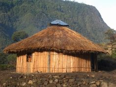 33.Province West Papua Indonesia - Honaikorupun Traditional house.