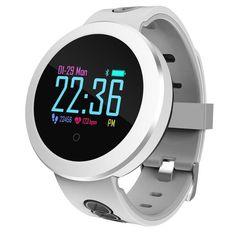 696 New Blood Pressure Smart Watch Men Heart Rate Sports Watch Pulse Meter Smart Bracelet Waterproof Bluetooth Alarm Clock Lustrous Surface Smart Wristbands Smart Electronics
