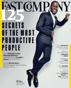 Fast Company articles and posts tagged Secrets of the Most Productive People with a unique editorial focus on innovation in technology, leadership, and design. Train Your Brain, Black Actors, Business Magazine, Business Innovation, Kevin Hart, Emotional Intelligence, Successful People, Professional Development, Business Planning