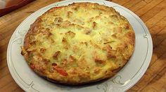 It's Not Easter Without Lidia's Sausage, Bread and Pepper Frittata