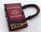 Edgar Allan Poe Tales of Mystery and Imaginaion book purse