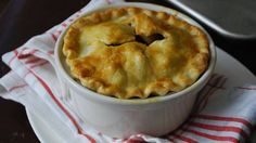 Individual Apple Pot Pies- Rachael Ray! Make these in individual ramekins