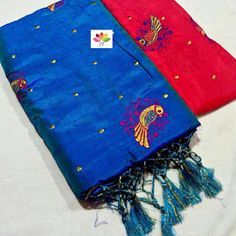 Sana silk Sarees With Banglori Embroidery Blouse Modern Saree, Salwar Dress, Indian Silk Sarees, Elegant Saree, Cotton Saree, Sarees Online, Embroidery, Blouse, Clothes