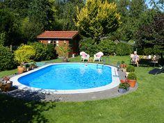 Ohne Einen Swimmingpool Ist Ein Garten Nur Halb So Schön. #pool  #schwimmbecken #