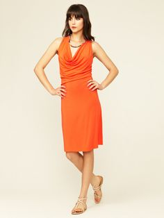 Jersey Lulu Cowl Dress by Rachel Pally on Gilt.com