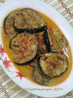 Pecak terong, aubergine Indonesian