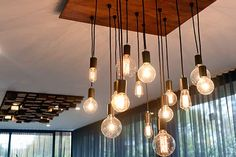 The Block Sky High: Room Reveal: Bec + George's dining room Beacon Lighting, Kitchen Lighting Fixtures, Dining Room Lighting, Light Fixtures, The Block Glasshouse, Southern Homes, Glass House, Pendant Lighting, Light Pendant