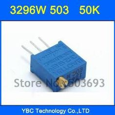 10pcs 3296W-103 10K Ohm Potentiometer Adjustable Resistors DE