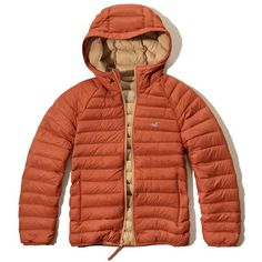 9b15dc7027 Hollister Lightweight Down Puffer Jacket (£48) ❤ liked on Polyvore  featuring men's fashion