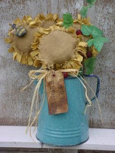 Prim Sunflowers Pattern $0.00