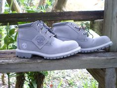 Timberland Boots LT Gray Suede...these look nice