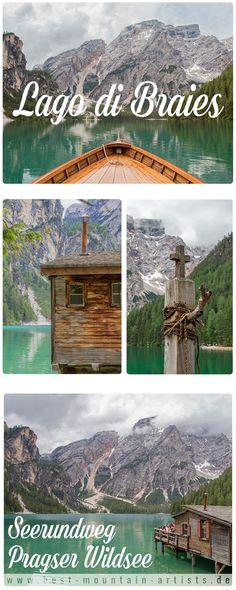 Seerundweg Pragser Wildsee | Lago di Braies | Südtirol - einer der schönsten Bergseem der Alpen ist der Pragser Wildsee in Südtirol. Wildromantisch bettet er sich in die Kulisse der Pragser Dolomiten. Der Seerundweg ist eine traumhafte Wanderung für die ganze Familie.
