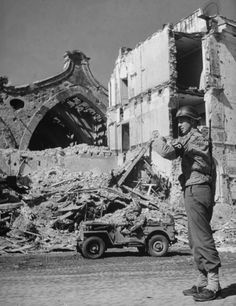 The Allies at Anzio: Rare Photos From WWII's Italian Campaign | LIFE.com