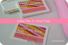 Getting back to school ready!