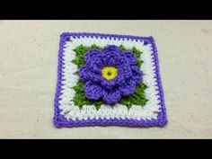 In this video I will teach you how to crochet a classic granny square. This is a good beginner project. You can choose your own colors, yarn types, and hook ...