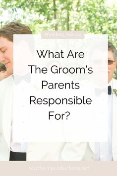 What are the Groom's Parents Responsible For? Mother Of Groom Dresses, Mother Of The Bride, Long Mothers Dress, Bride Groom Dress, Mother Son, Groom Outfit, Wedding Advice, Plan Your Wedding, Wedding Ideas