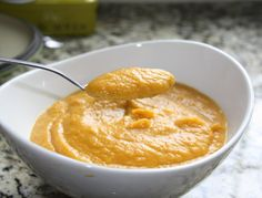 Easy to make Butternut Squash Soup - YUM!