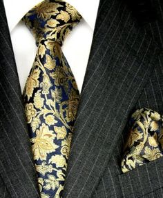Lorenzo Cana Luxury Set Tie And Hanky Gold Floral Pattern £139.00 The limited stock of these really luxurious ties are made from the very best heavy silk, laboriously finished by hand. The high quality of these ties guarantees their long life and will satisfy even the most demanding tie connoisseur.