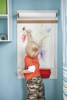 Espacios para niños creativos