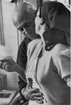 Picasso y Jaqueline