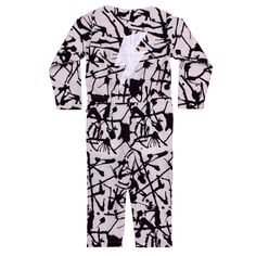 Noe & Zoe. Overall. £70. #onepiece #jumpsuit #kidsclothing #blackandwhite