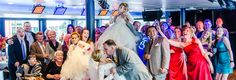 Wedding ceremony and reception packages aboard Mystic Blue Chicago