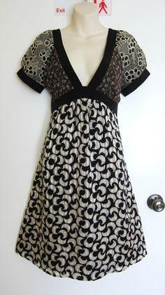 Corey Lynn Calter Anthropologie Floral Dress Silk Bohemian Romantic s s Moon s 6 | eBay $14.99
