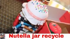 #sewing  #organize #diy #howto #howtoorganizesewing #organizing #crafts #doityourself #tutorial #nutellajarrecycle #nutella