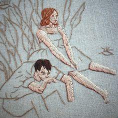 Michelle Kingdom's embroidery.