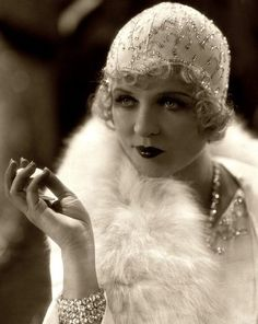 Phyllis Haver 1928.The 20's and Prohibition gave rise to the flapper girl and the speak easy and Jazz. The Roaring twenties culminated in the stock market crash of Oct 29 1929 named Black Friday