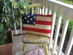 "It has to go in the ""Americana"" room.  Created by jlquilts."