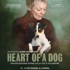Il 13 e 14 settembre nei cinema italiani sarà trasmesso Heart of a Dog lungometraggio realizzato dall'artista Laurie Anderson vedova di Lou Reed. Per maggiori info clicca sul link in bio! . . #BauSocial #cinema #cane #cani #dog #dogs #laurieanderson #love #heartofadog #loureed