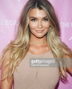 Beautiful Emily Sears wearing Lotus Lashes No. 308 from our 3D Ultra Fluffy Collection