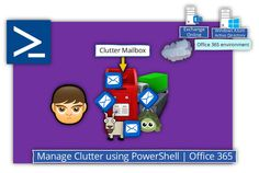 Manage Clutter by using PowerShell - Office 365 - http://o365info.com/manage-clutter-by-using-powershell-office-365/