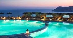 The second destination on the trip will be the Royal Myconian Hotel & Thalasso Spa Center on Mykonos, Greece.