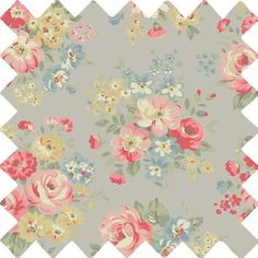 Add some fresh florals to your home with our classically elegant Spring Bouquet fabric.
