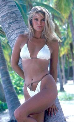 994be33dabd4d 1980 Sports Illustrated Swimsuit Photographed by John G. Christie Brinkley  (Similar to the cover but not part of the original issue) Dear god, we  dreamed of ...
