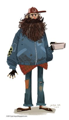 Miscellanious Character Designs on Behance