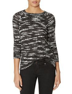 Textured Hi-Low Shine Sweater from THELIMITED.com #ItsTime #TheLimited