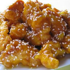 Battered, deep fried and coated with a sweet and savory honey glaze