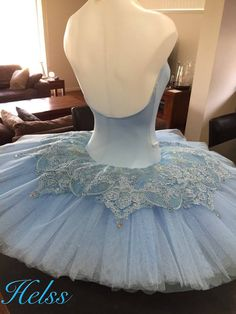 Tutu. Ballet. Stretch. Bluebird. Made by Helen Shawsmith