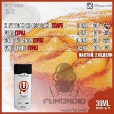 Premium E-liquids straight from the manufacturer Diy Vape Juice, Vape Diy, Newyork Cheesecake, Vape Facts, E Juice Recipe, Diy E Liquid, Clone Recipe, Light Cakes, Fruit Jam