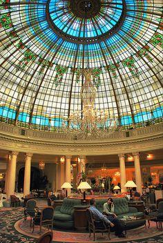 Madrid. Hotel Palace. Cúpula de la Rotonda. by josemazcona, via Flickr