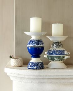 china crafts DIY: Flamme in der Schssel, - china Home Crafts, Diy Home Decor, Diy And Crafts, Arts And Crafts, Tea Cup Art, Tea Cups, Teacup Crafts, China Crafts, Deco Table